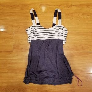 Lululemon 2 in 1 Tank (No Limits?) Workout Top